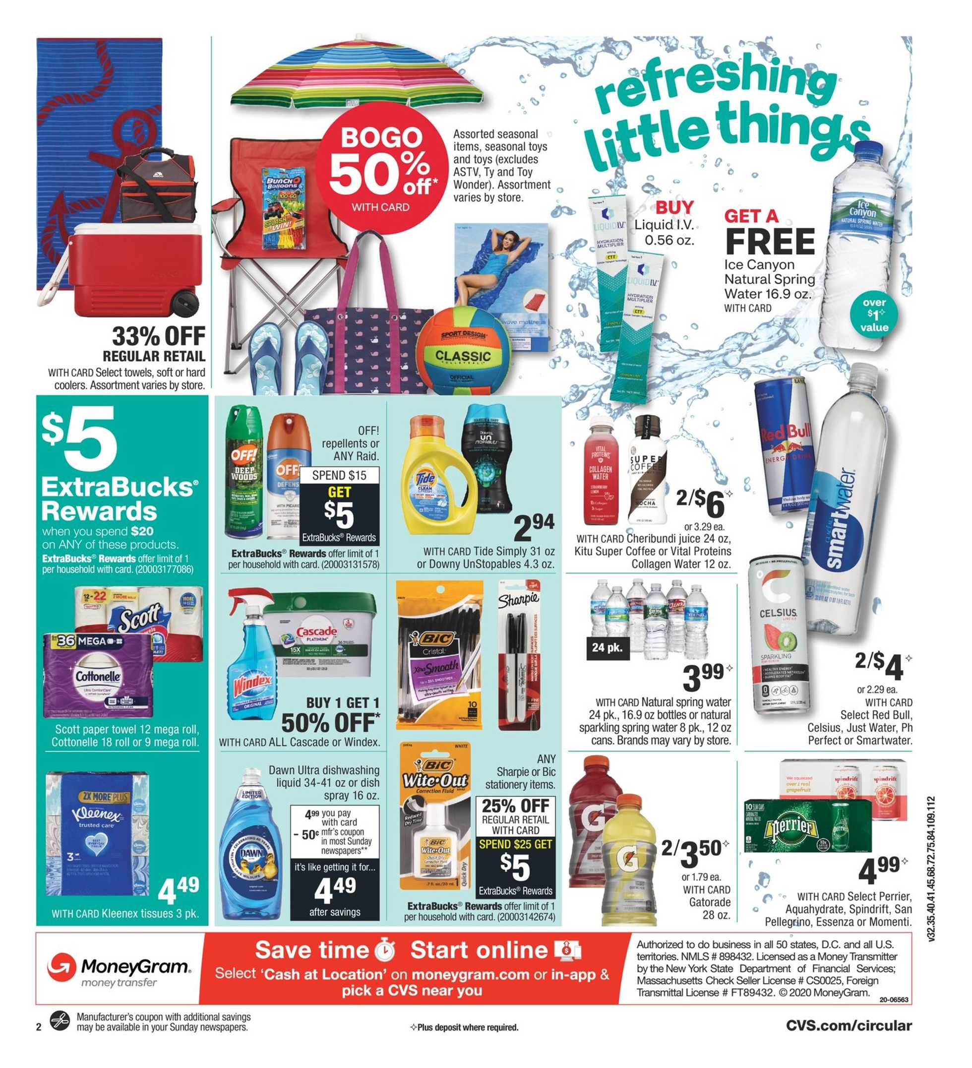 CVS - deals are valid from 07/26/20 to 08/01/20 - page 3.