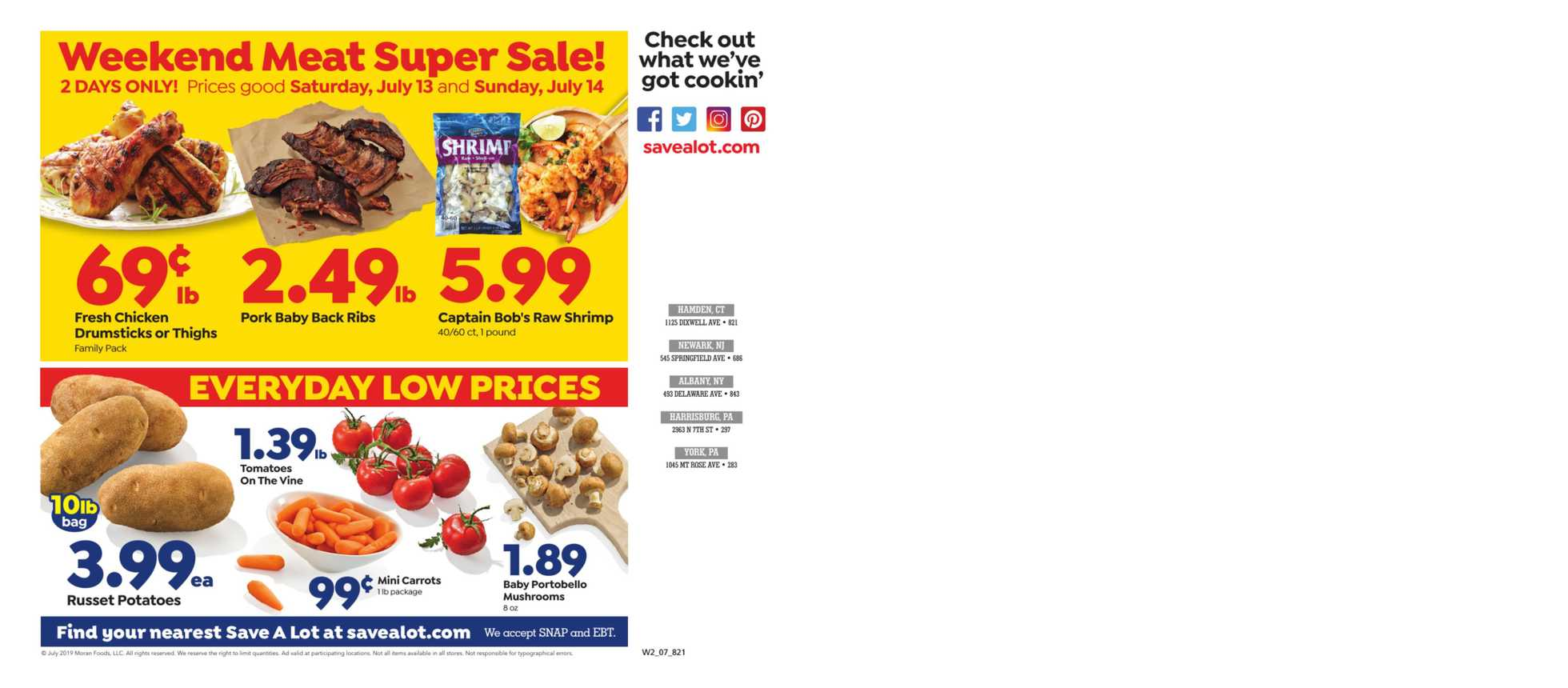 Save-A-Lot - deals are valid from 07/10/19 to 07/16/19 - page 3.