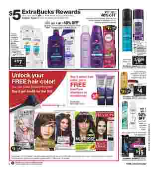 CVS - deals are valid from 10/06/19 to 10/12/19 - page 7.