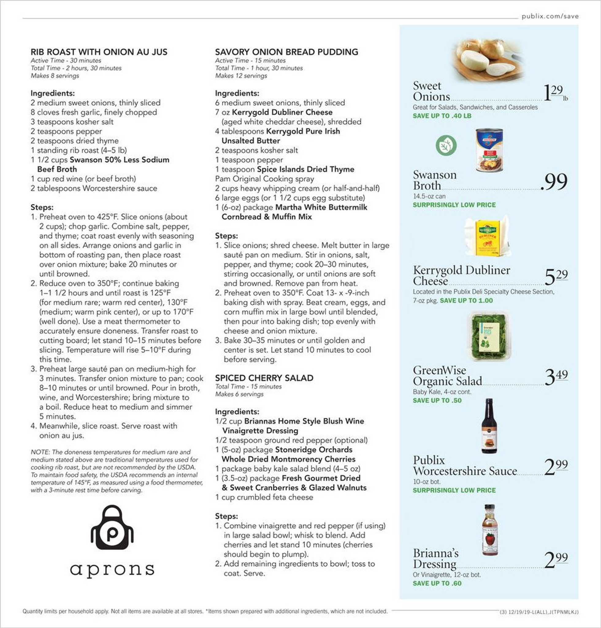 Publix - promo starting from 12/19/19 to 12/24/19 - page 3.
