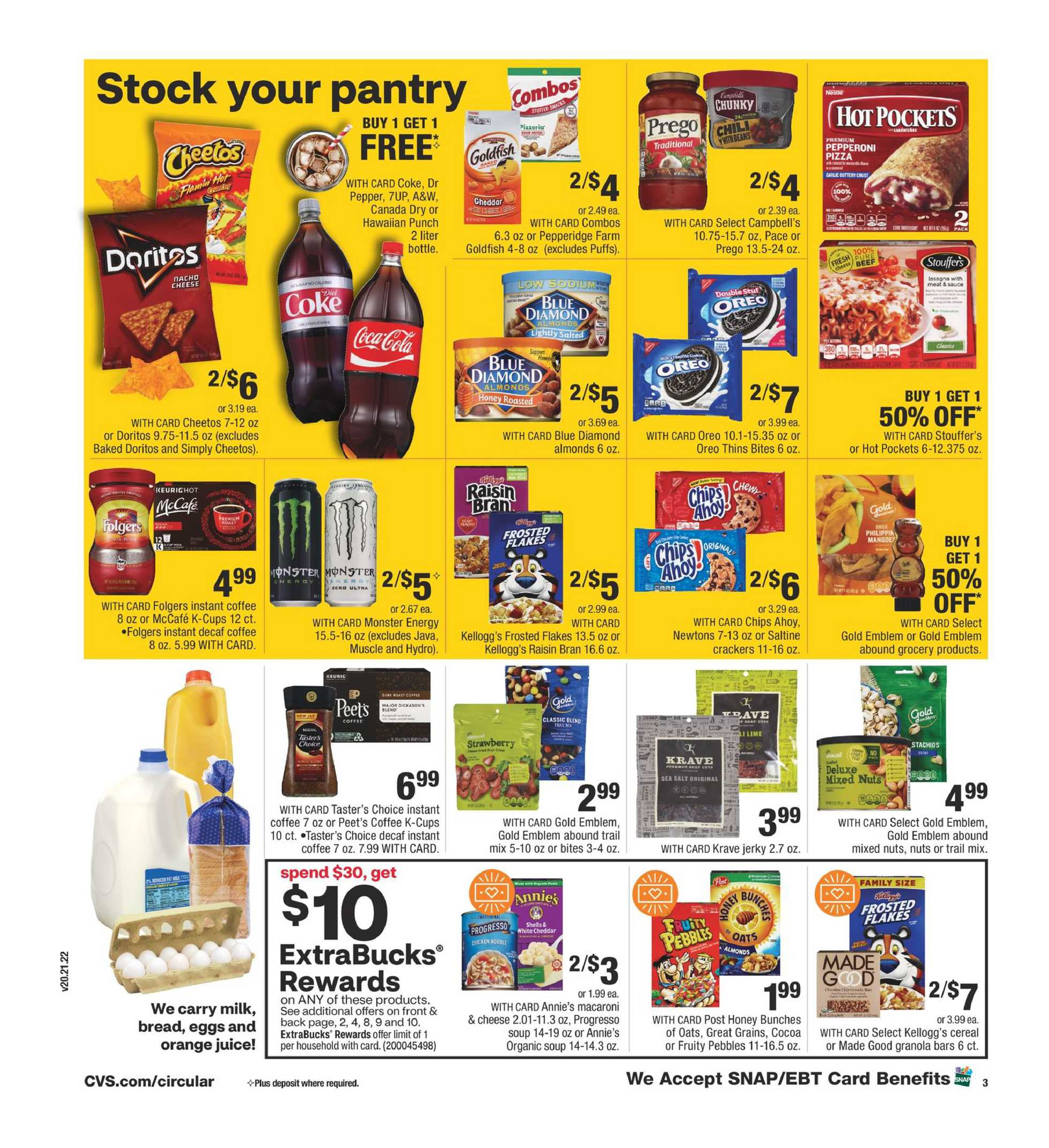 CVS - deals are valid from 11/01/20 to 11/07/20 - page 4.