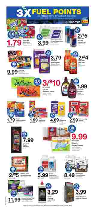 Kroger - deals are valid from 06/19/19 to 06/25/19 - page 6.