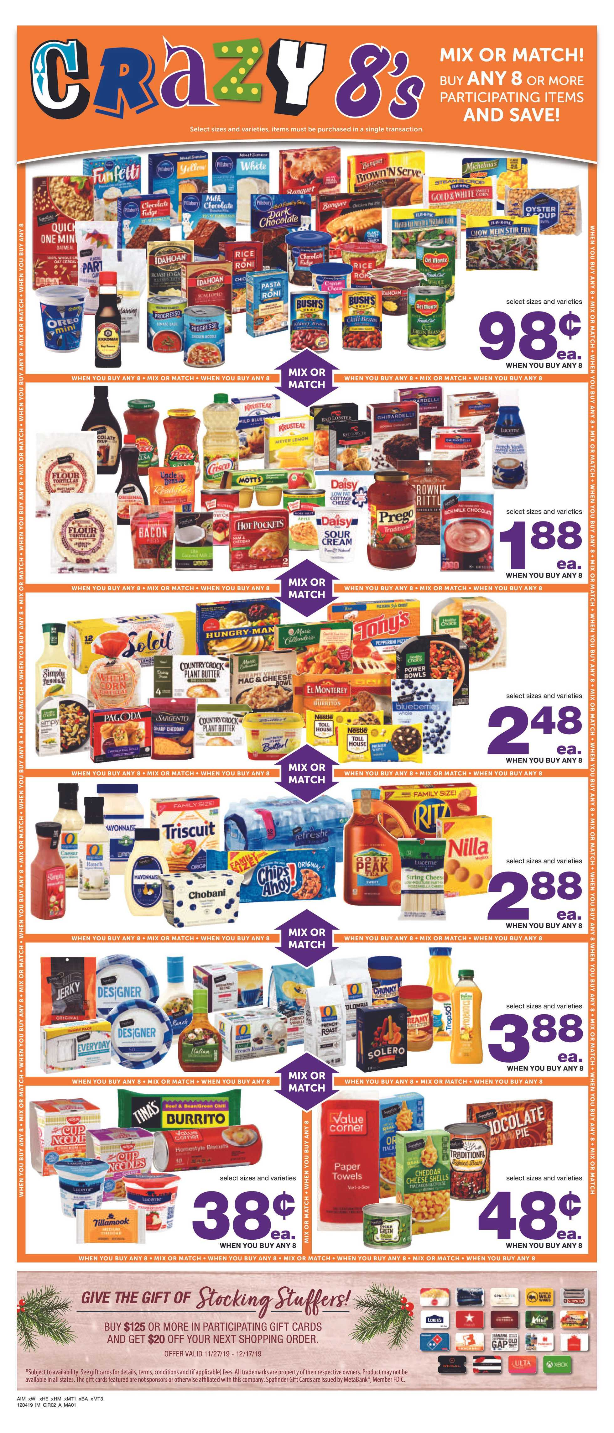 Albertsons - deals are valid from 12/04/19 to 12/10/19 - page 3.