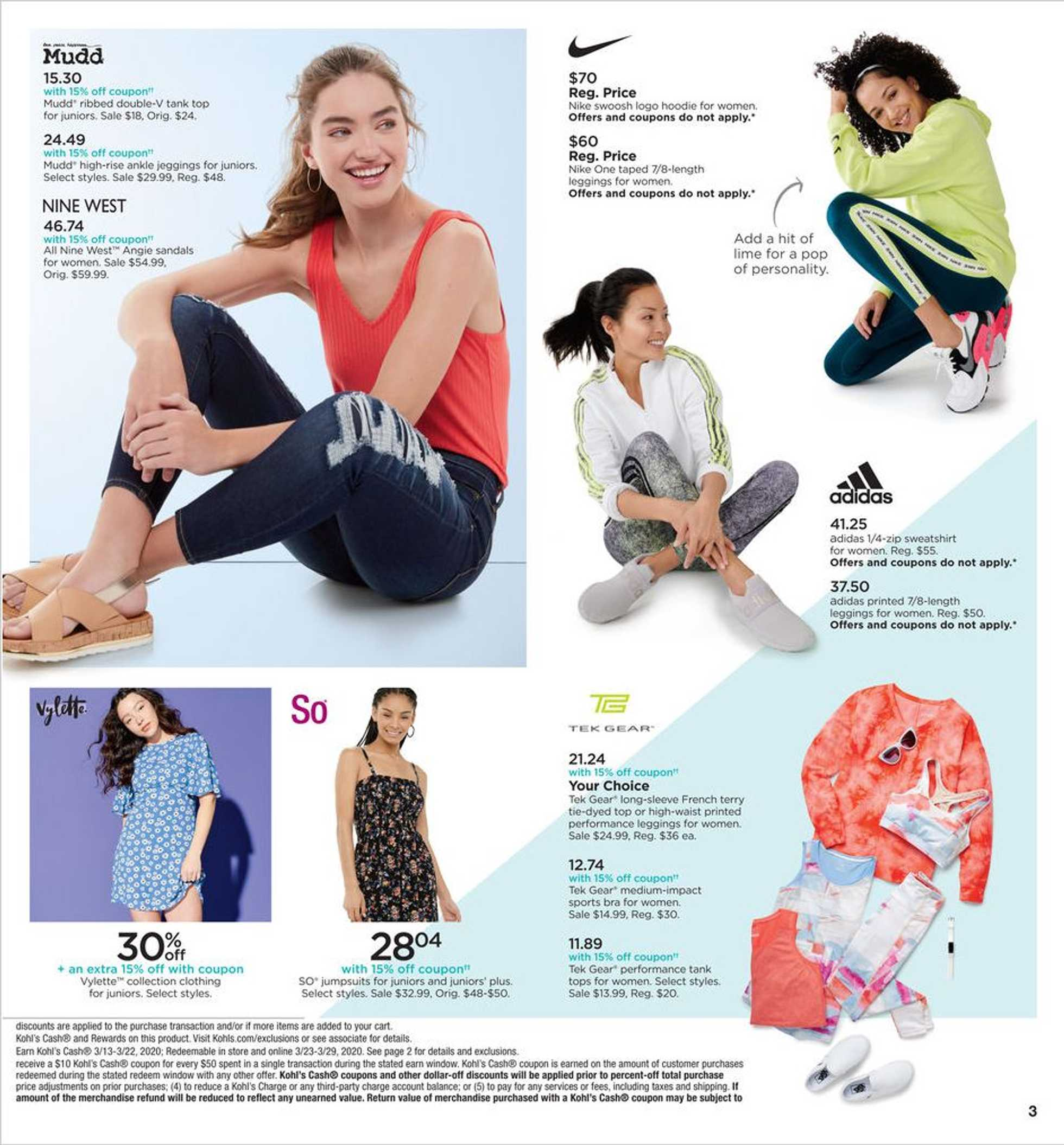 Kohl's - deals are valid from 03/13/20 to 03/22/20 - page 3.