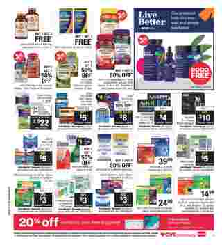 CVS - deals are valid from 07/12/20 to 07/18/20 - page 11.