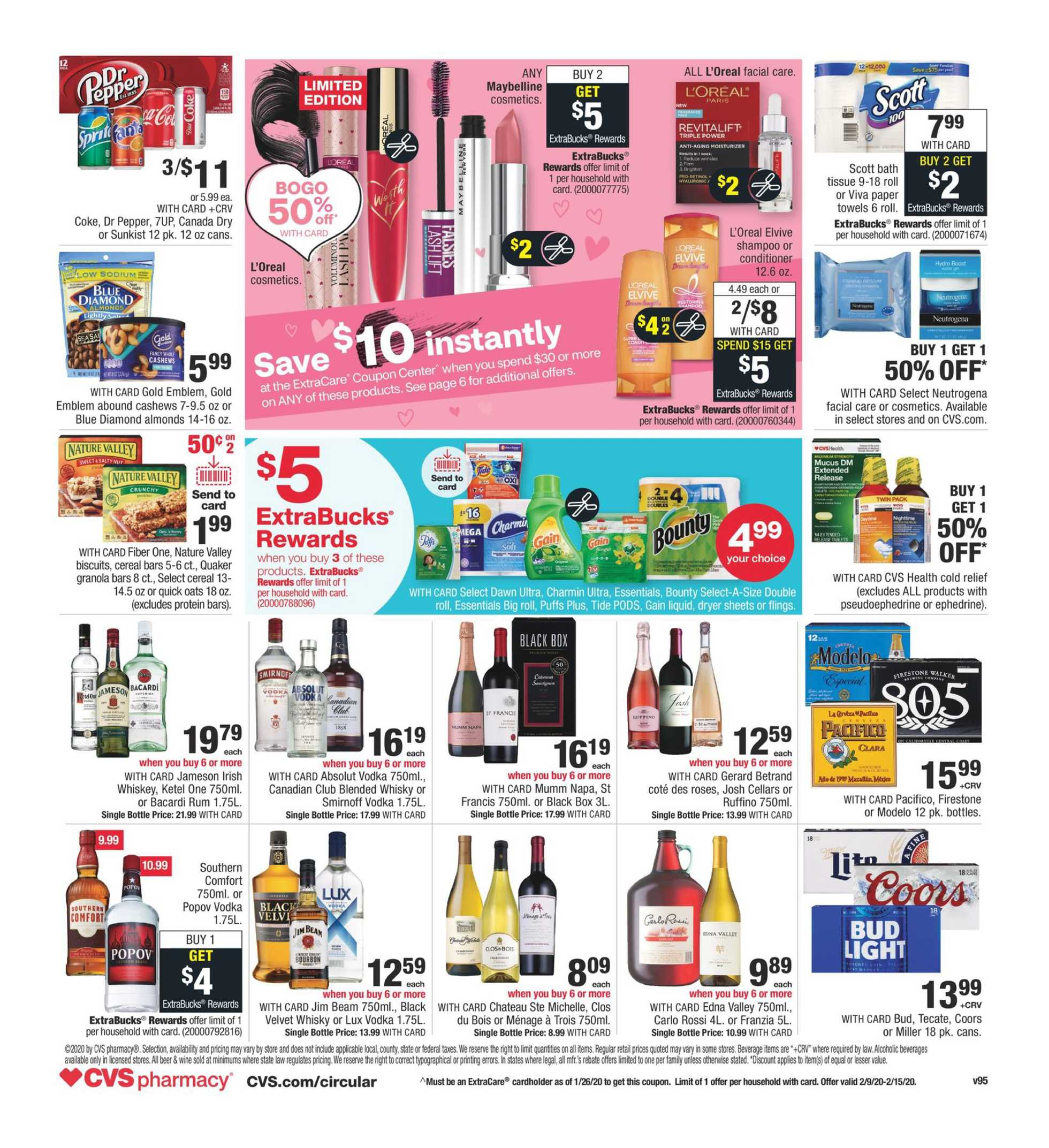 CVS - deals are valid from 02/09/20 to 02/15/20 - page 2.