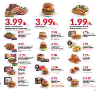 Hy-Vee - deals are valid from 10/02/19 to 10/08/19 - page 5.