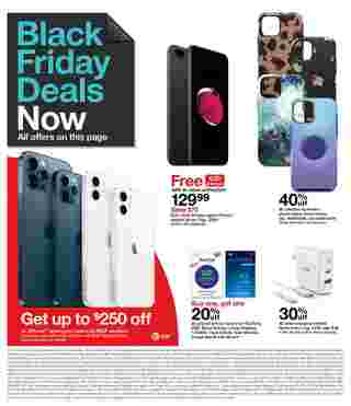 Target - deals are valid from 11/22/20 to 11/28/20 - page 15.