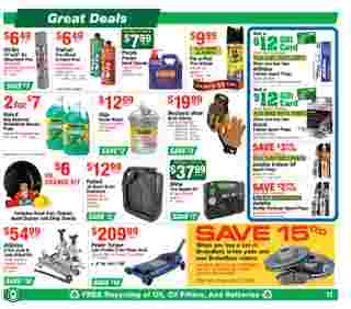 O'reilly - deals are valid from 05/27/20 to 06/23/20 - page 11.