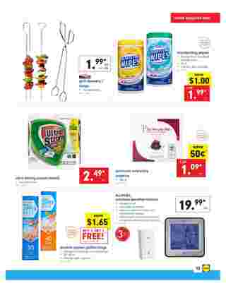 Lidl - deals are valid from 04/24/19 to 04/30/19 - page 13.