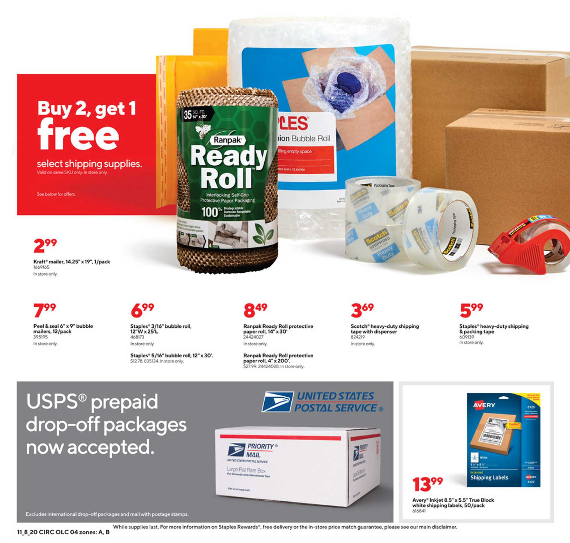 Staples - deals are valid from 11/08/20 to 11/14/20 - page 4.