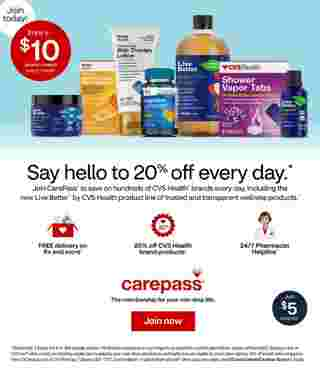 CVS - deals are valid from 10/11/20 to 10/17/20 - page 8.