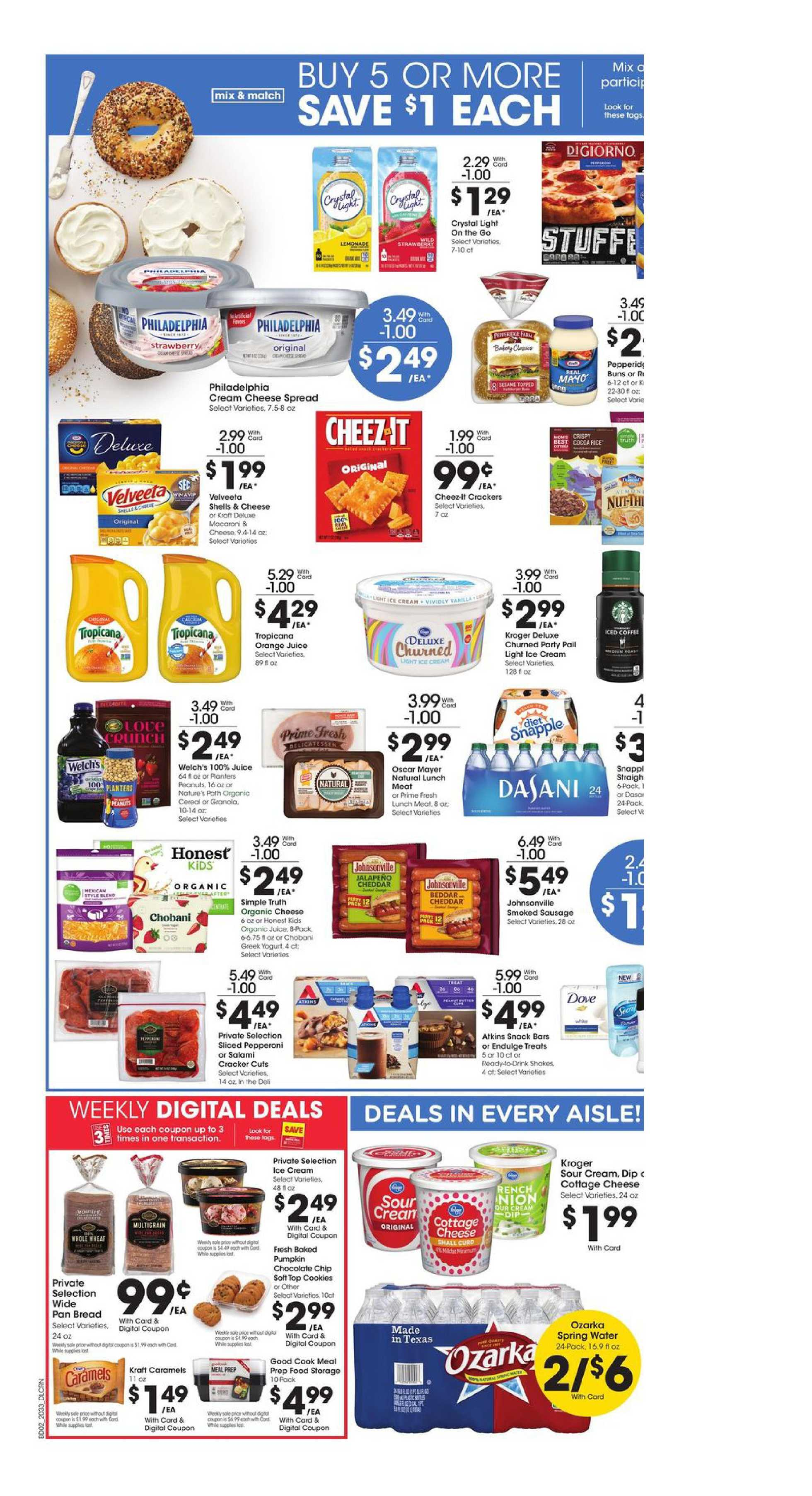 Kroger - deals are valid from 09/16/20 to 09/22/20 - page 4.