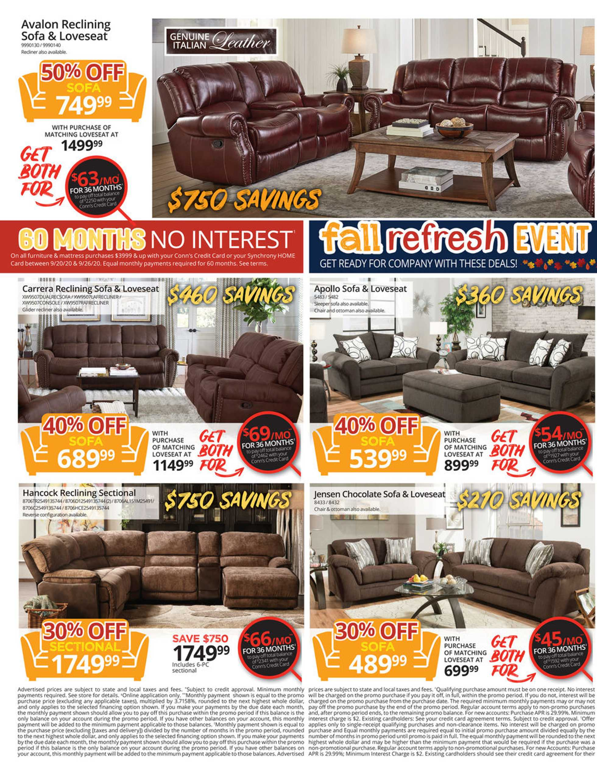 Conn's HomePlus - deals are valid from 09/20/20 to 09/26/20 - page 2.