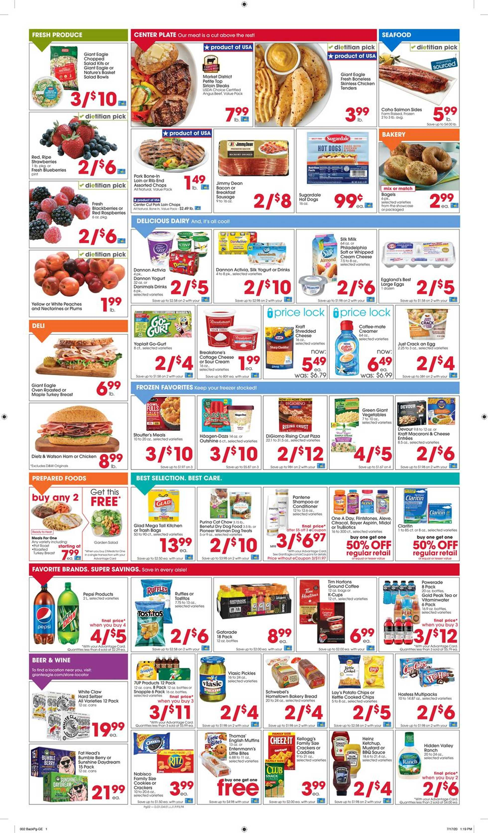 Giant Eagle - deals are valid from 07/30/20 to 08/05/20 - page 2.