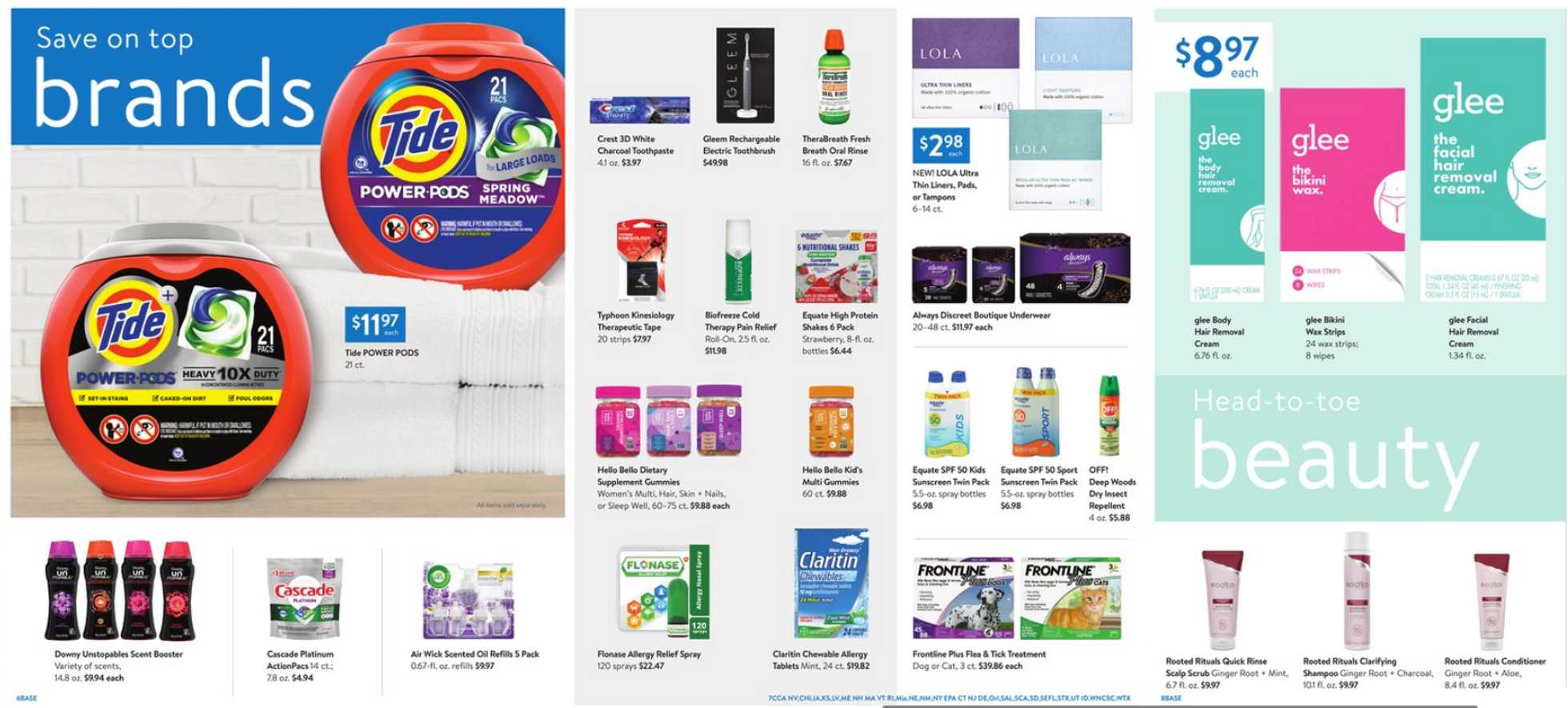 Walmart - deals are valid from 05/01/20 to 05/21/20 - page 3.