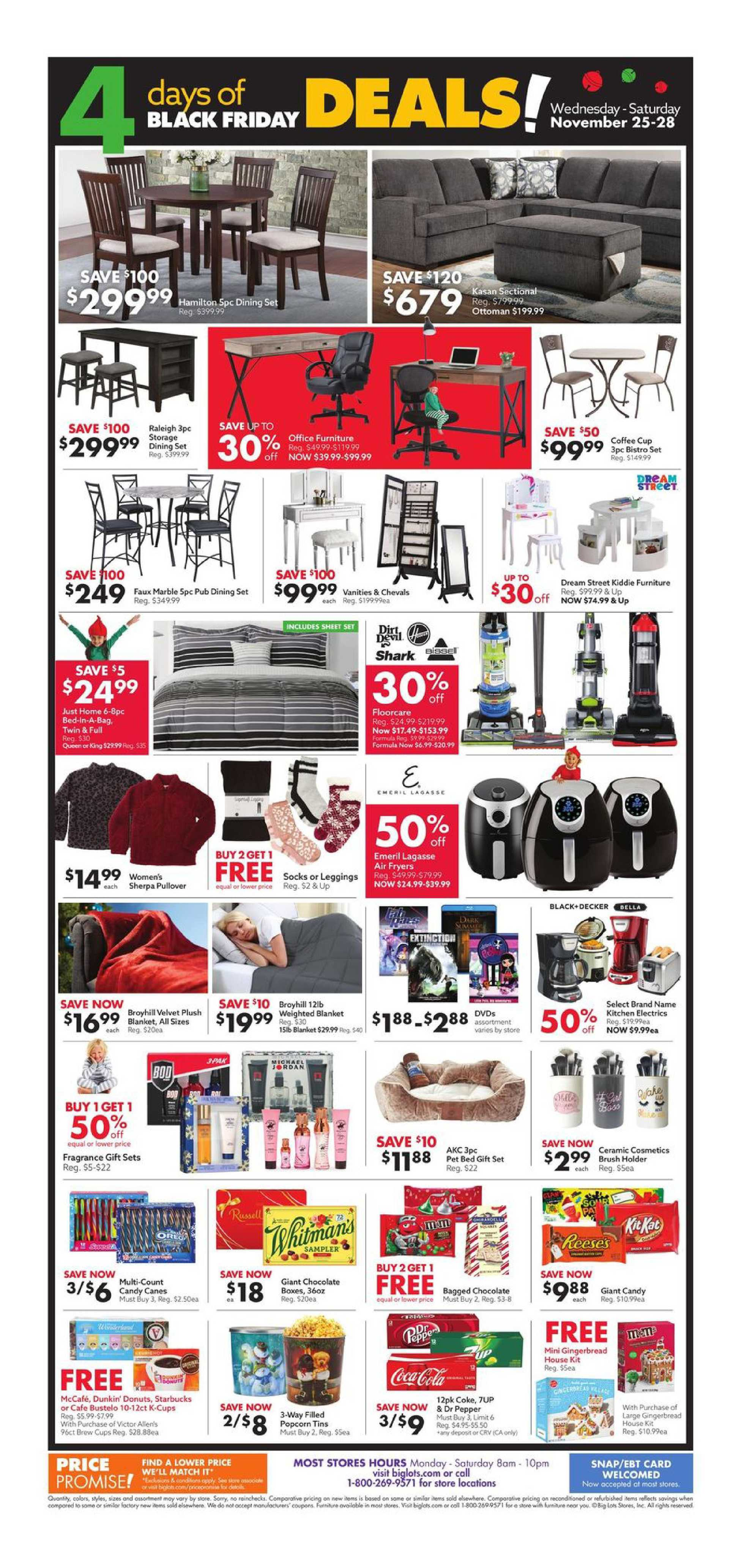 Big Lots - deals are valid from 11/25/20 to 11/28/20 - page 2.