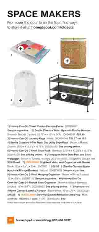 The Home Depot - deals are valid from 07/06/20 to 10/01/20 - page 14.