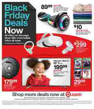 Target - deals are valid from 11/22/20 to 11/28/20 - page 37.