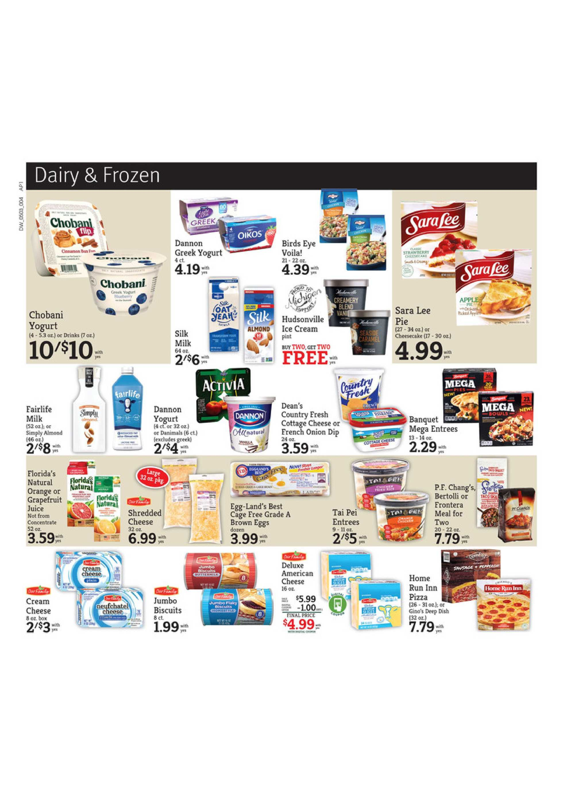 D&W Fresh Market - deals are valid from 05/03/20 to 05/09/20 - page 4.