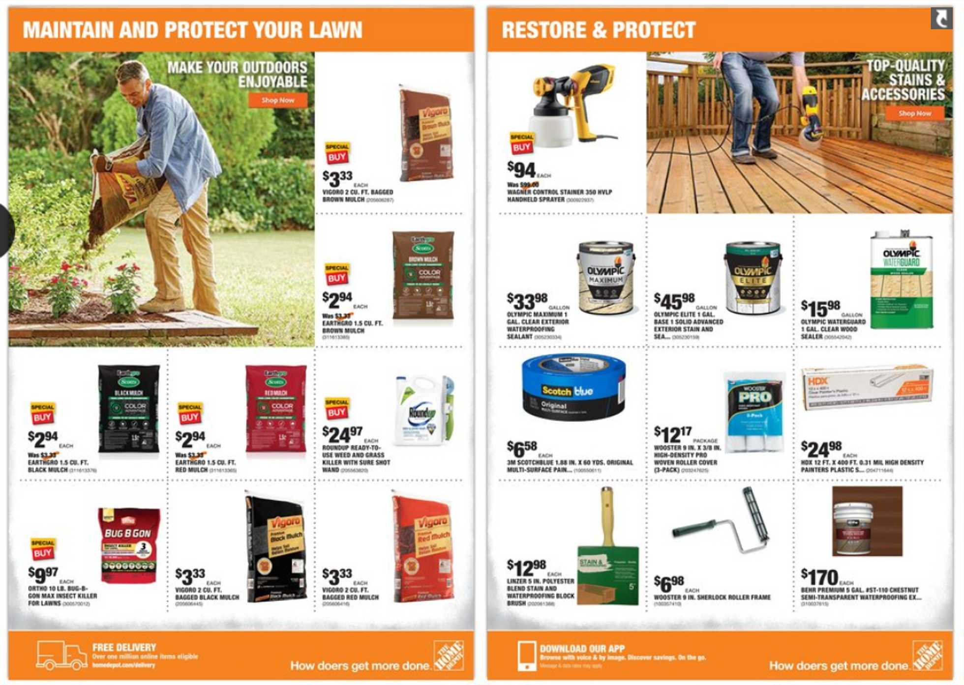 The Home Depot - deals are valid from 06/22/20 to 06/25/20 - page 3.