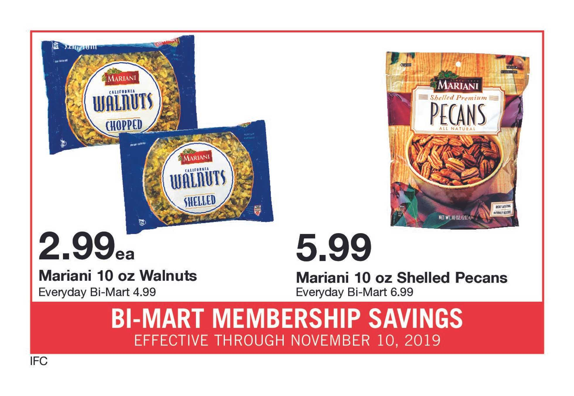 Bi-Mart - deals are valid from 10/31/19 to 11/10/19 - page 2.