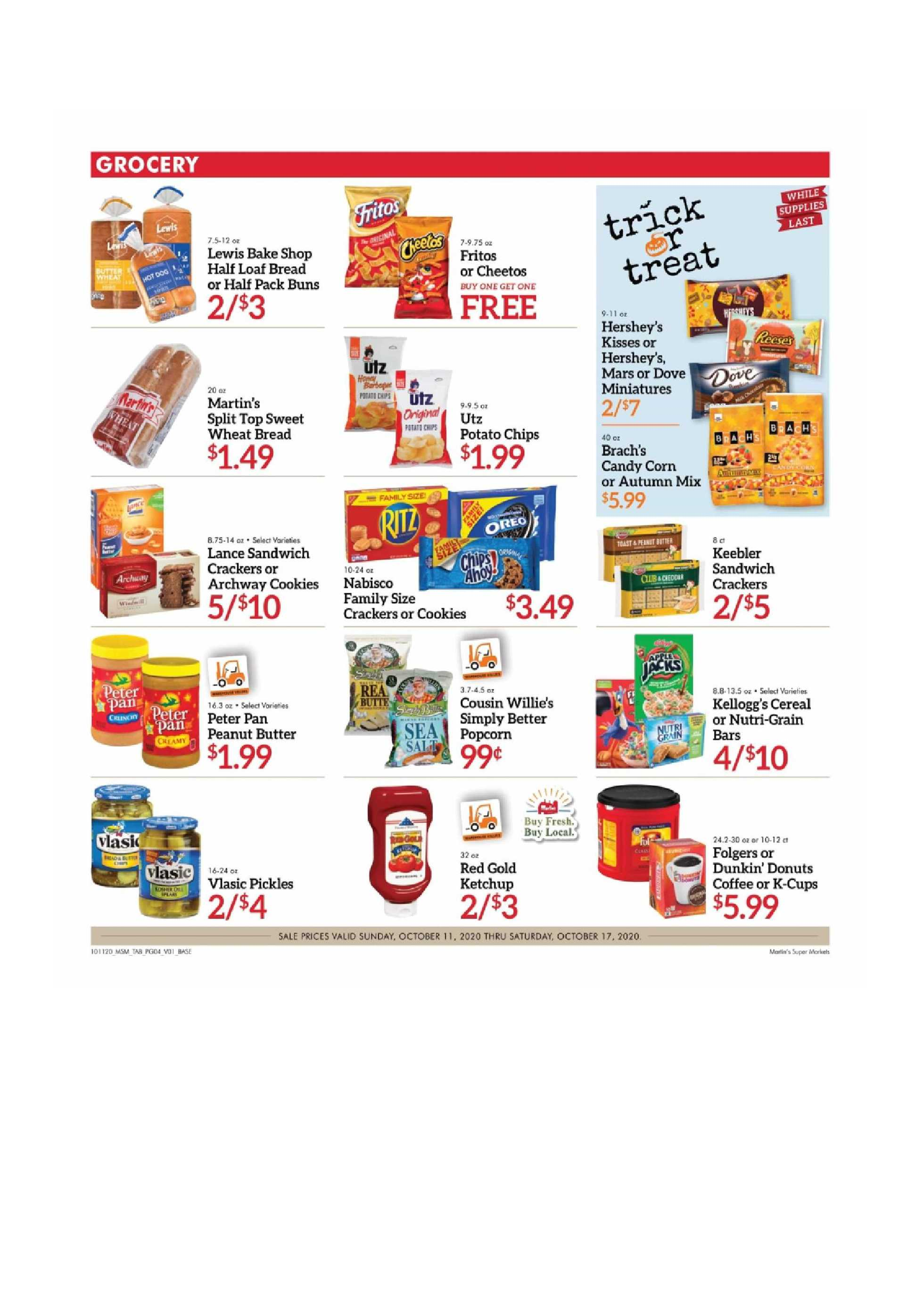 Martin's - deals are valid from 10/11/20 to 10/17/20 - page 4.