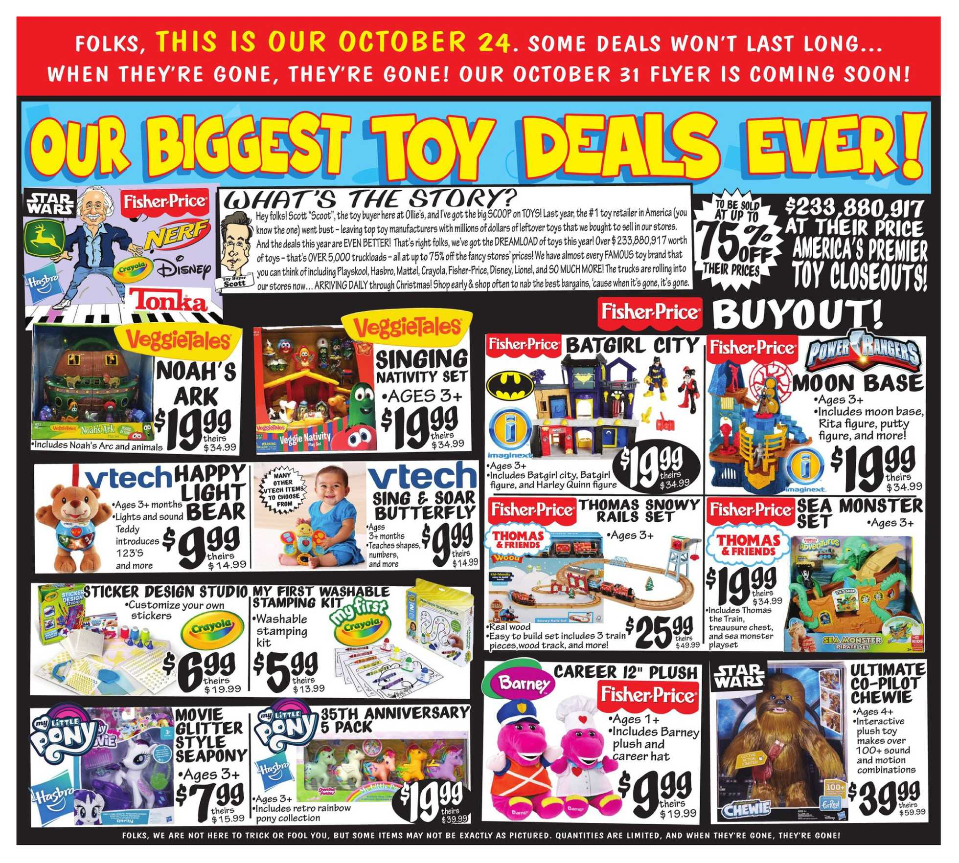 Ollie's Bargain Outlet - Weekly Ad - 10/24/19 | us