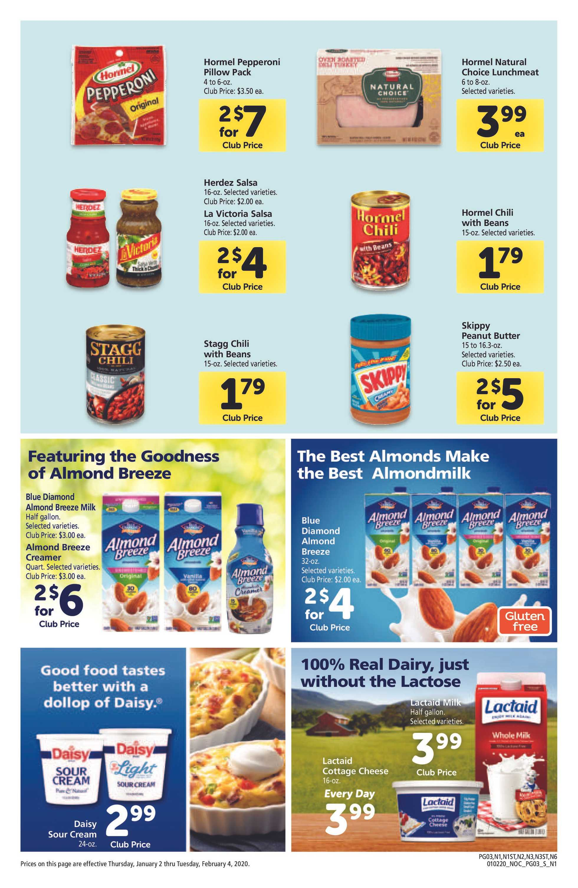 Safeway - deals are valid from 01/02/20 to 02/04/20 - page 3.