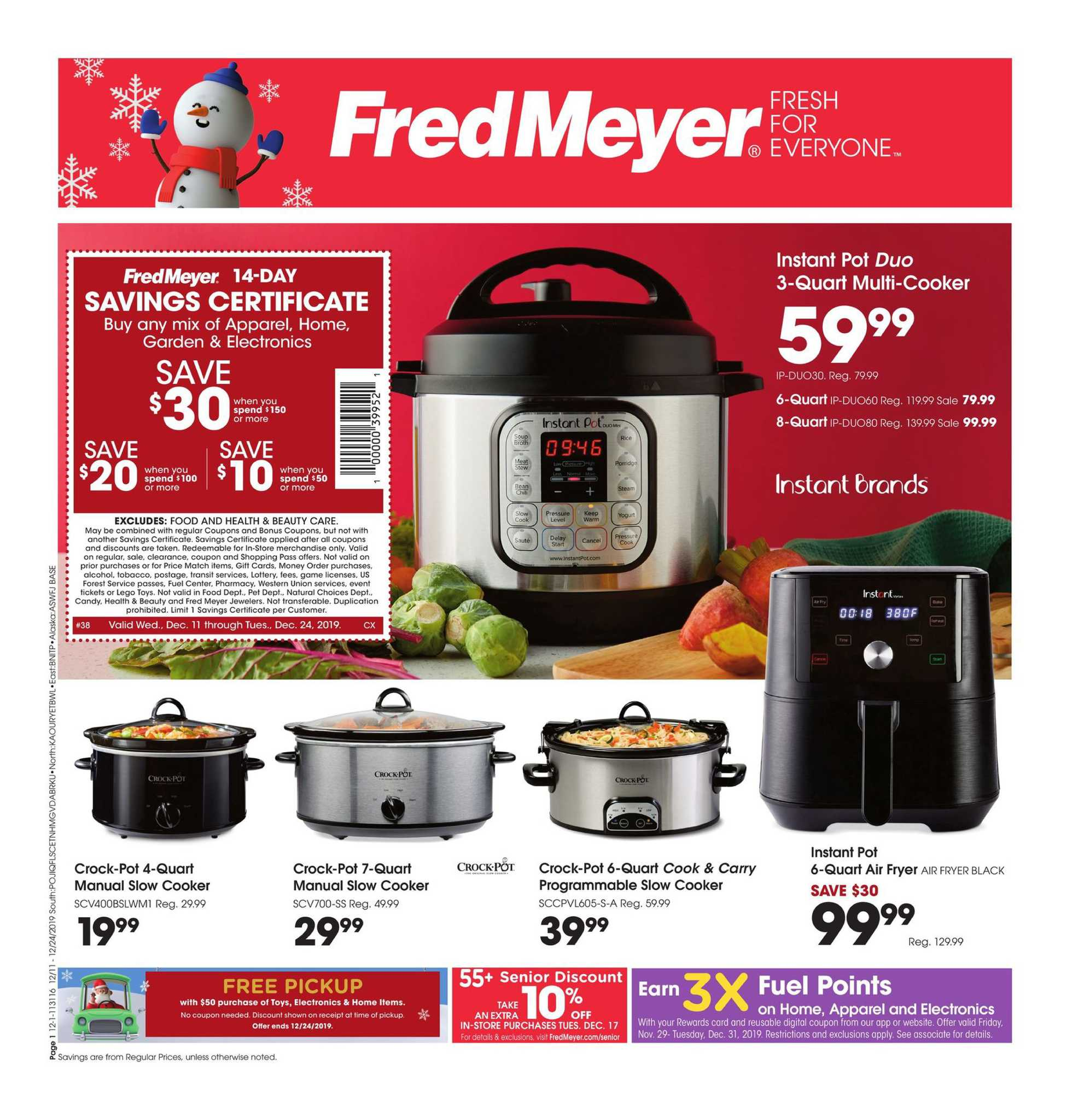 Fred Meyer Home Gift Ideas 12 18