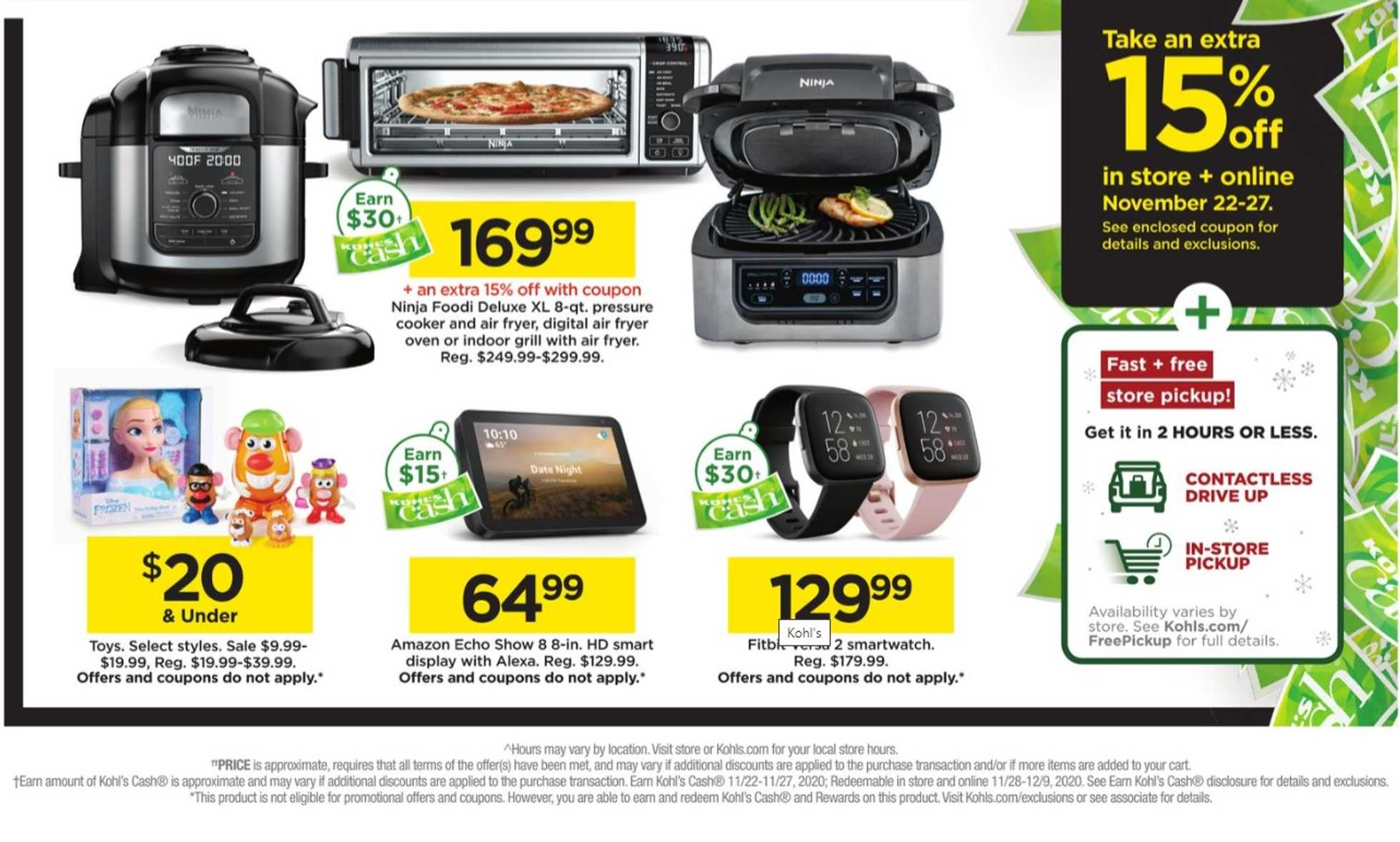 Kohl's - deals are valid from 11/22/20 to 11/27/20 - page 2.