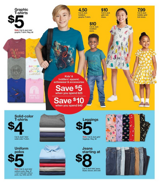 Target - deals are valid from 08/09/20 to 08/15/20 - page 12.