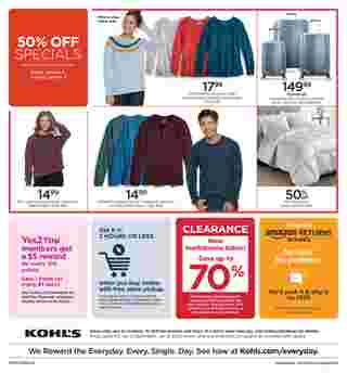 Kohl's - deals are valid from 01/03/20 to 01/08/20 - page 8.