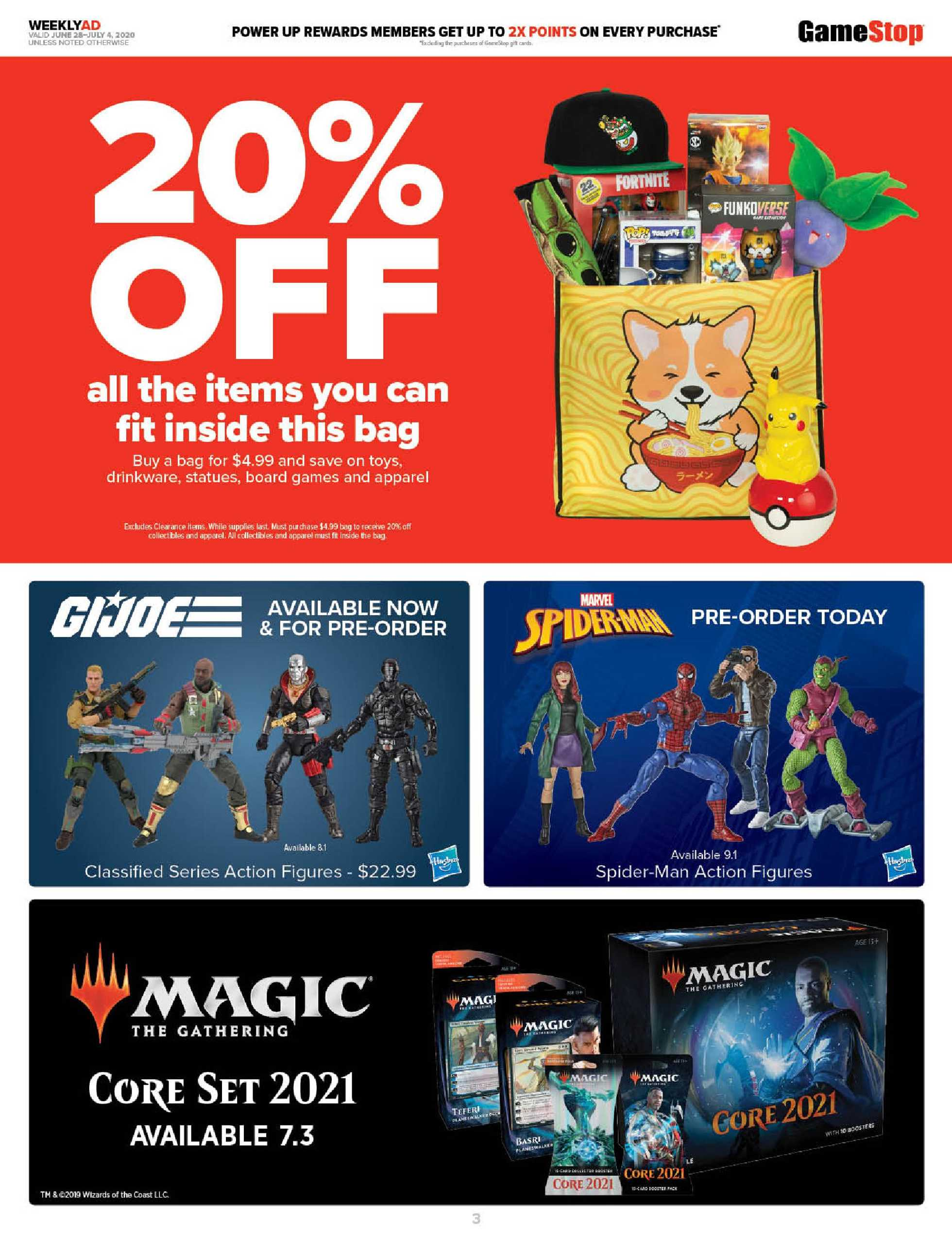 GameStop - deals are valid from 06/28/20 to 07/04/20 - page 3.