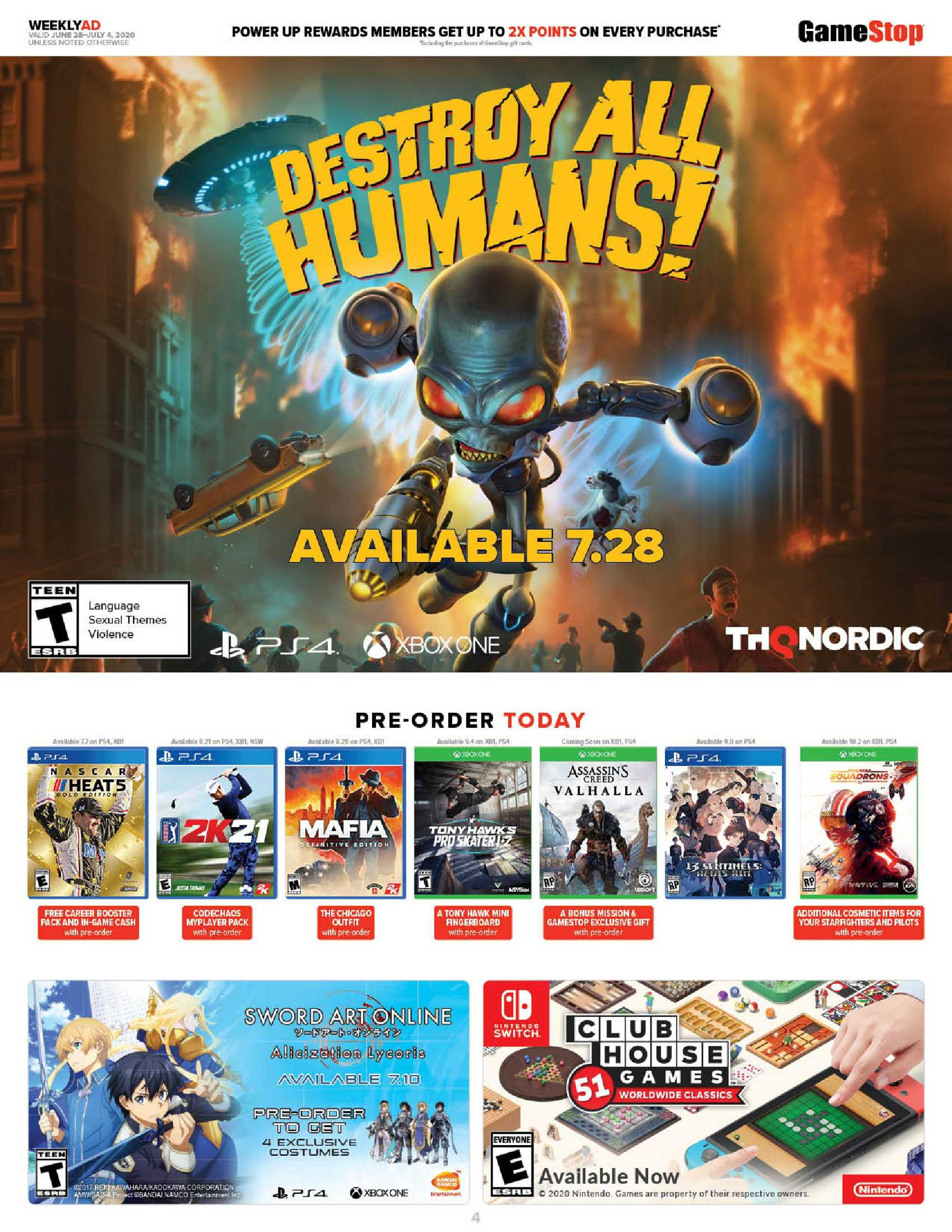 GameStop - deals are valid from 06/28/20 to 07/04/20 - page 4.