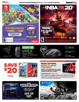 GameStop - deals are valid from 06/28/20 to 07/04/20 - page 6.