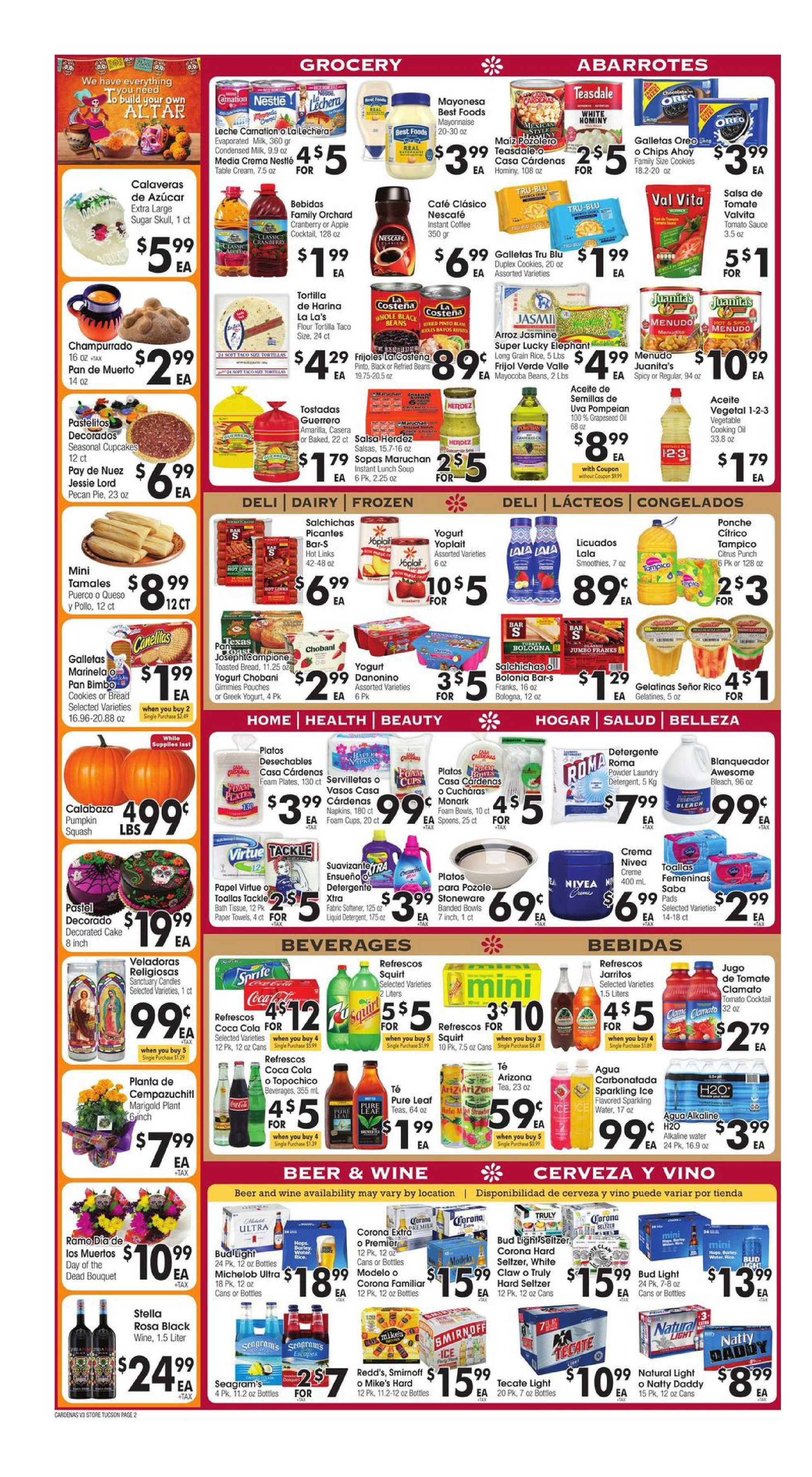 Cardenas - deals are valid from 10/28/20 to 11/03/20 - page 2.