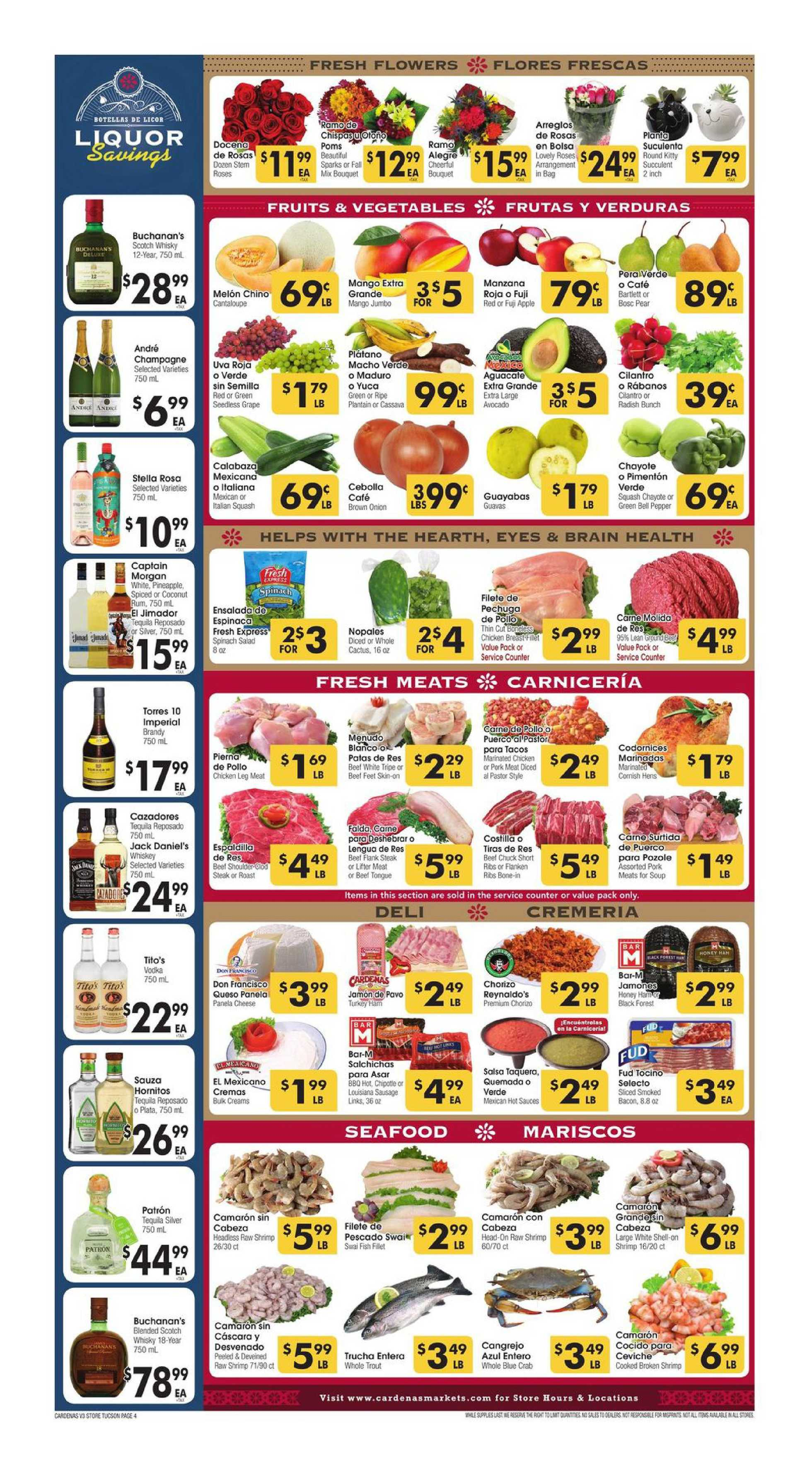 Cardenas - deals are valid from 10/28/20 to 11/03/20 - page 4.