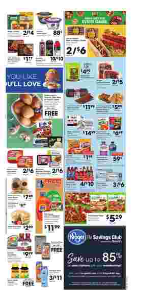 Kroger - promo starting from 01/15/20 to 01/21/20 - page 5. The promotion includes fritos, franks, beef, fritos, franks, beef