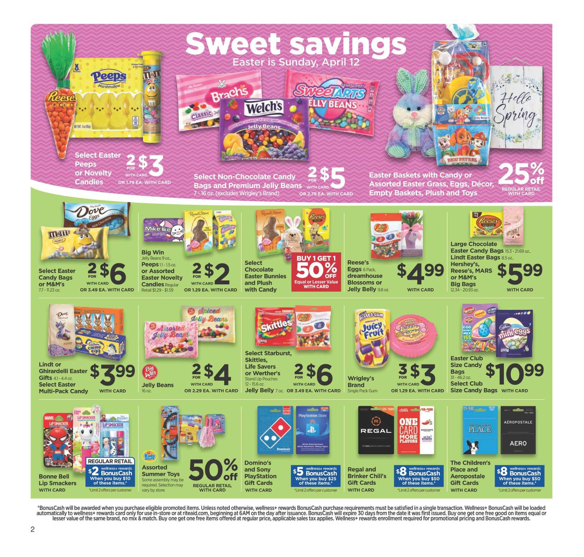 Rite Aid - deals are valid from 03/22/20 to 03/28/20 - page 4.