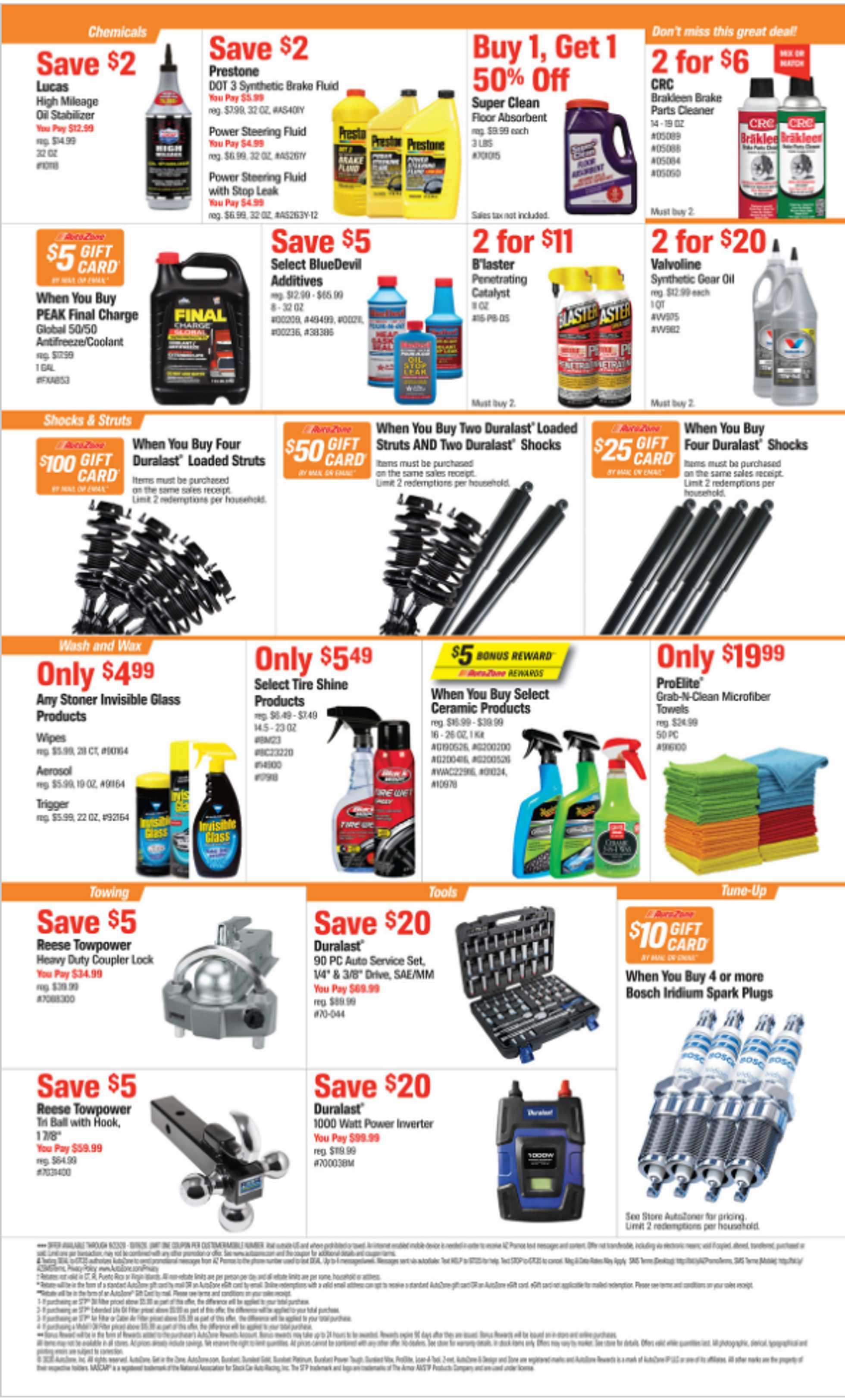 AutoZone - deals are valid from 09/22/20 to 10/19/20 - page 2.