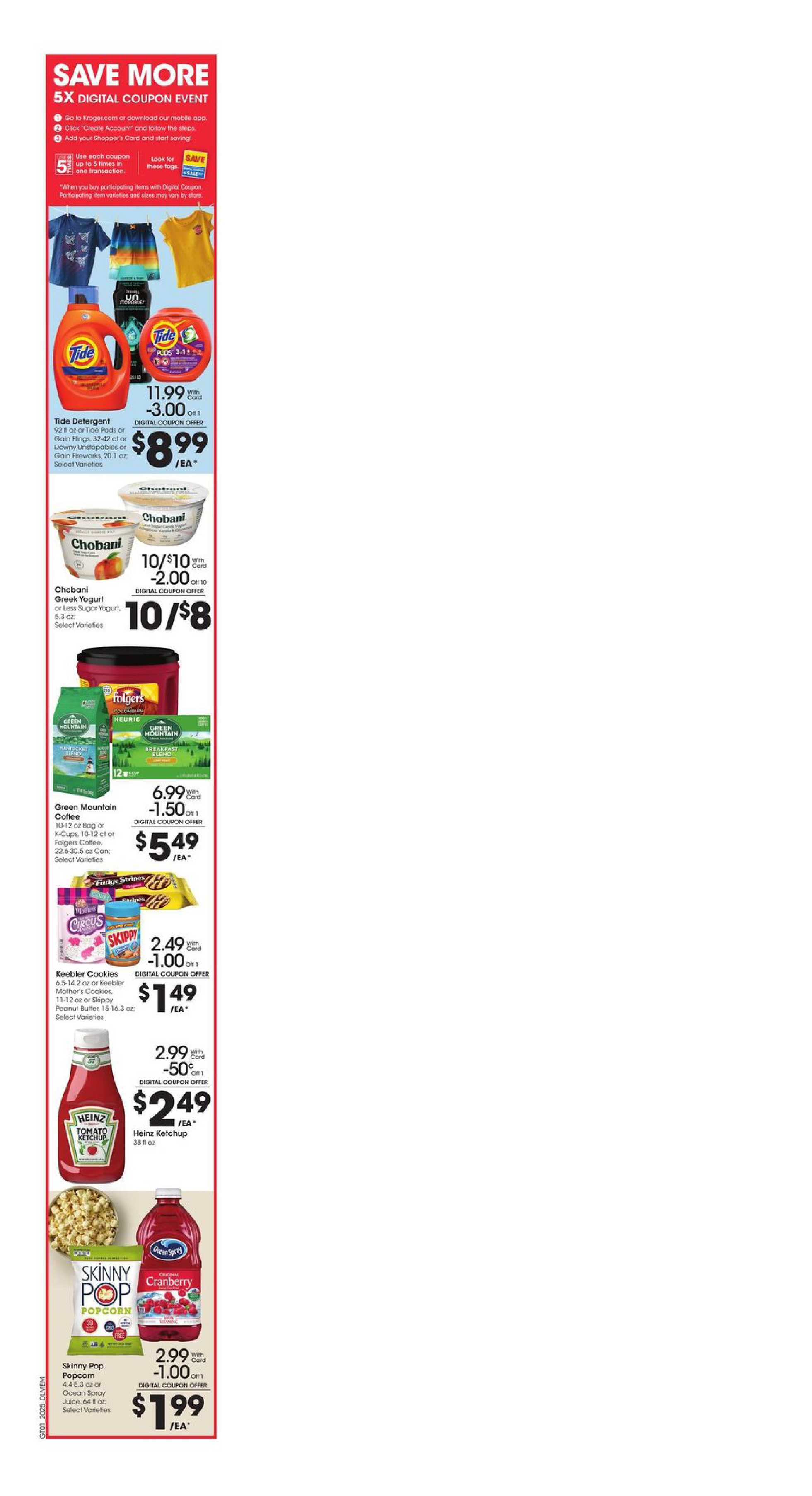 Kroger - deals are valid from 07/22/20 to 07/28/20 - page 3.