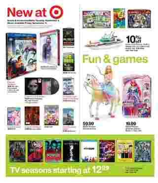 Target - deals are valid from 09/06/20 to 09/12/20 - page 17.