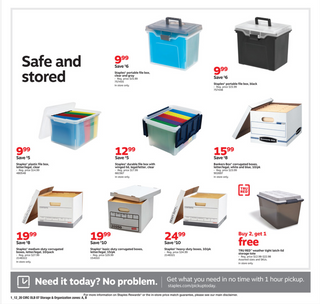 Staples - deals are valid from 01/12/20 to 01/18/20 - page 11.