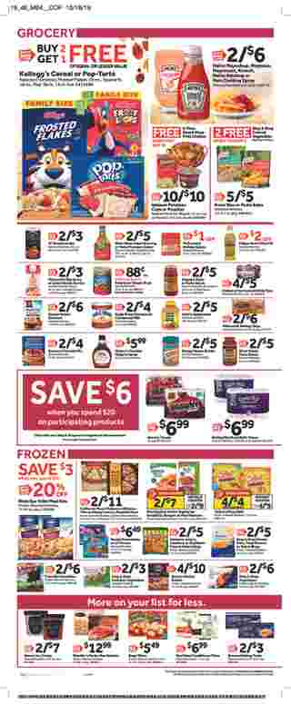 Stop & Shop - deals are valid from 11/08/19 to 11/14/19 - page 9.