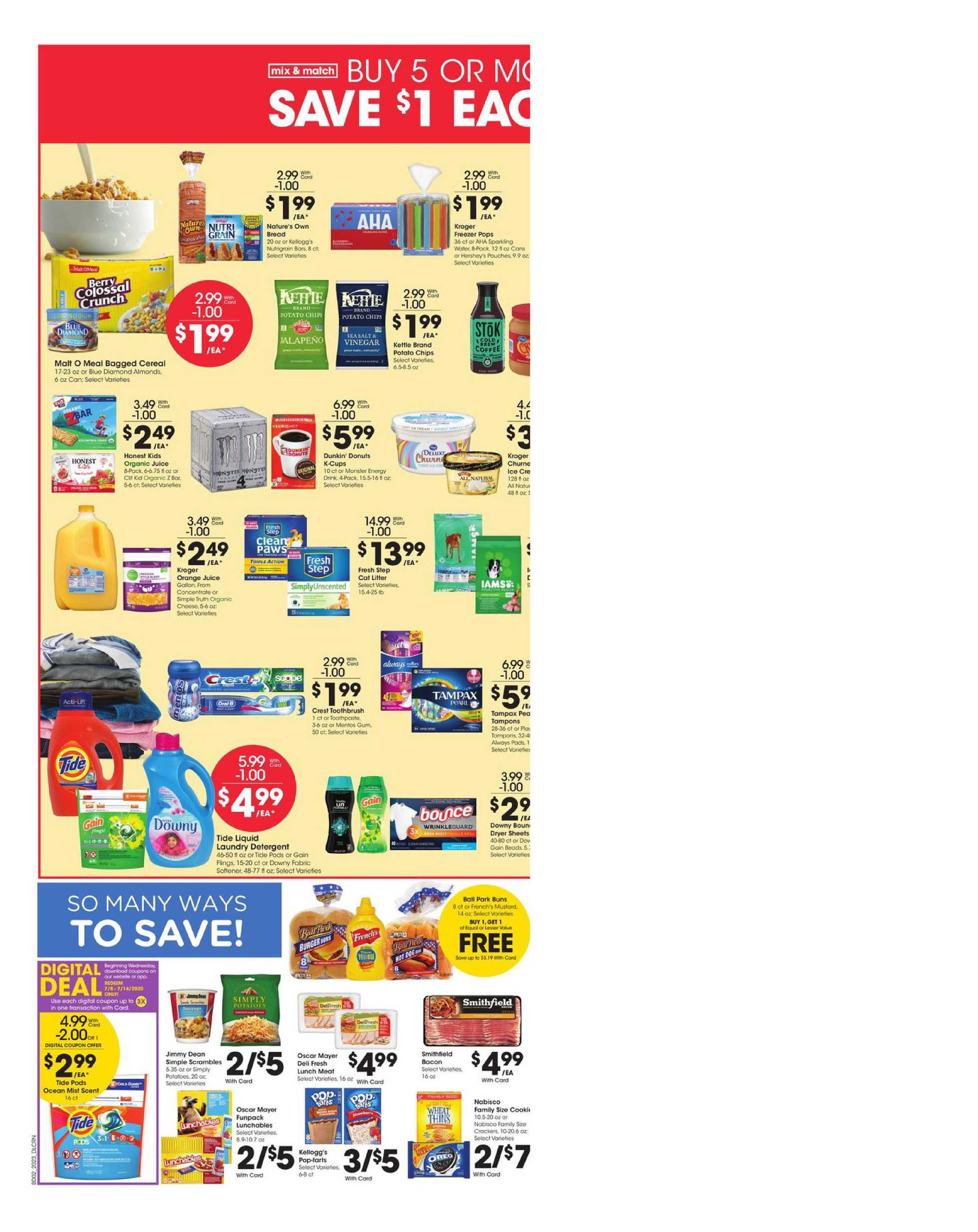 Kroger - deals are valid from 07/08/20 to 07/14/20 - page 4.