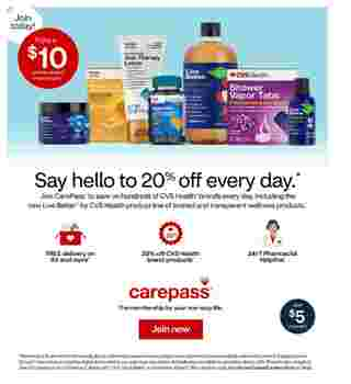 CVS - deals are valid from 11/01/20 to 11/07/20 - page 7.
