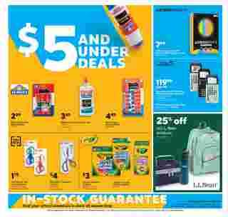 Staples - deals are valid from 08/30/20 to 09/05/20 - page 5.