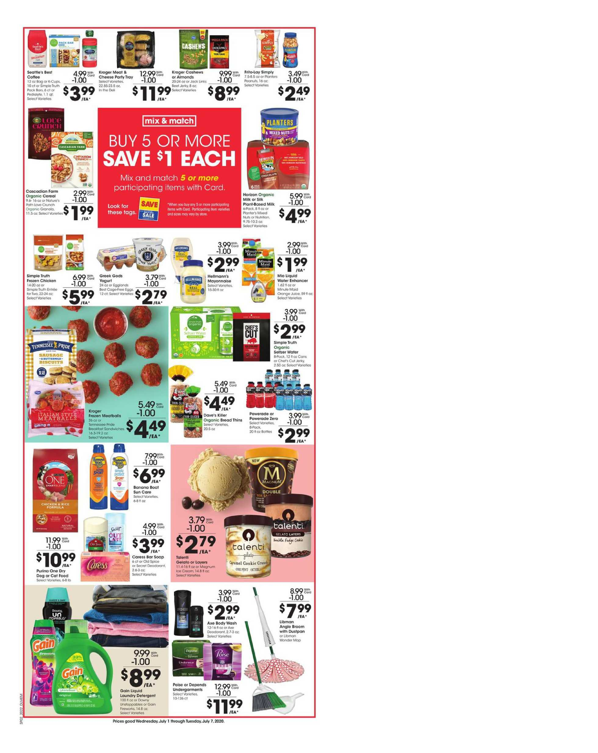 Kroger - deals are valid from 07/01/20 to 07/07/20 - page 3.