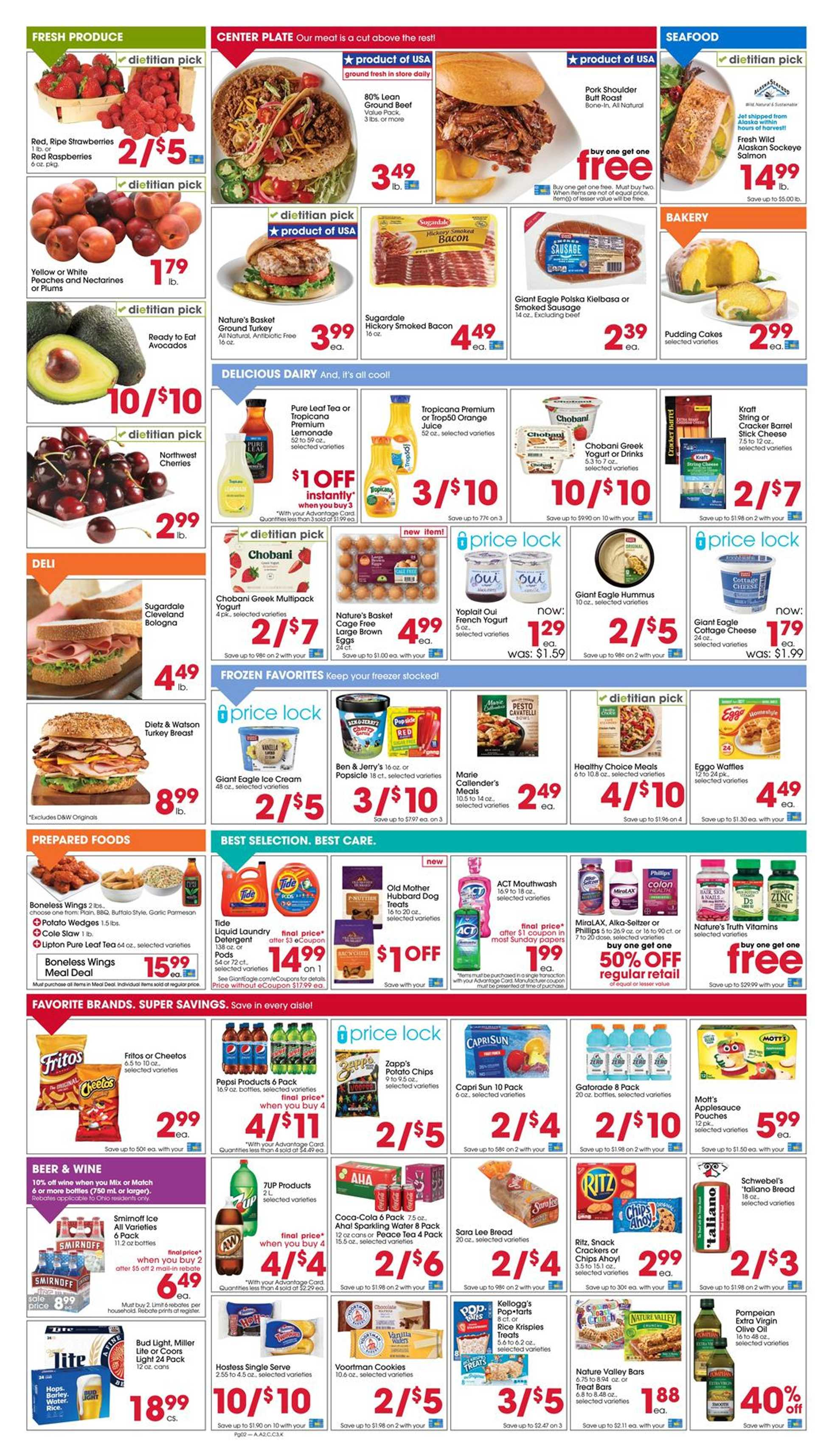 Giant Eagle - deals are valid from 07/23/20 to 07/29/20 - page 2.